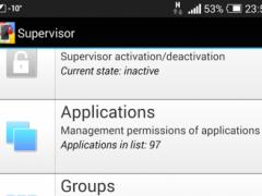 Supervisor 1.9 Screenshot