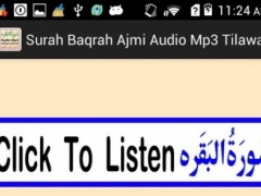 Surah Baqarah Ajmi Audio Mp3 1.0 Screenshot