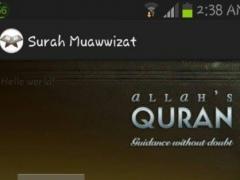 Surah Muawwizat & Terjemahan 2.0 Screenshot