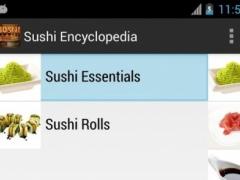Sushi Encyclopedia 1.3 Screenshot