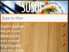 Sushi recipes free 1.0 Screenshot