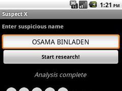 Suspect X 1.1 Screenshot