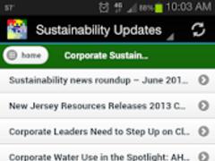 Sustainability Updates 1.0 Screenshot