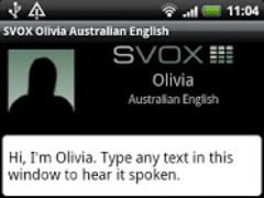 SVOX AU English Olivia Trial 3.1.4 Screenshot