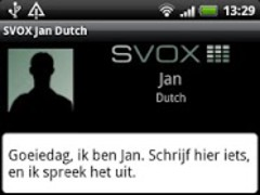 SVOX Dutch Jan Voice 3.1.4 Screenshot