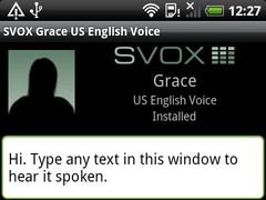 SVOX Italian Bianca Voice 3.1.4 Screenshot