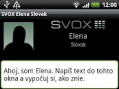 SVOX Slovak Elena Trial 3.1.4 Screenshot