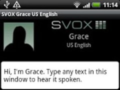 SVOX US English Grace Trial 3.1.4 Screenshot