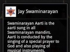 Swami Narayan Aarti 1.0 Screenshot