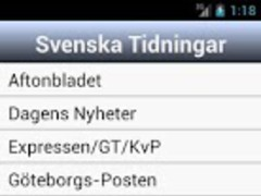Sweden News 1.0 Screenshot