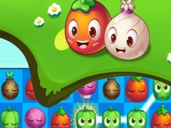 Sweet Farm Blast Vegetables Free Connect Match 3 Game 1.0 Screenshot