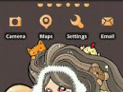 SWEET Theme GO Launcher EX 1.0 Screenshot