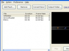 Swf to 3GP Converter 1.00.0313 Screenshot