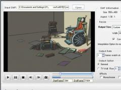 SWF to GIF Animation Converter 1.4 Screenshot