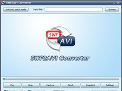 SWF2AVI Converter Pro 2.1 Screenshot