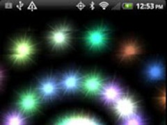 Swirling Stars Live Wallpaper 1.0 Screenshot