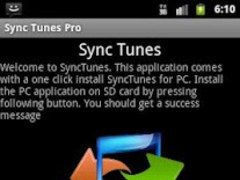 Synctunes usb free for iTunes 7.0.0.0 Screenshot