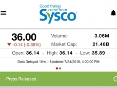 Sysco IR 7.2 Screenshot