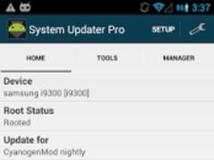 System Updater PRO 0.3.3 Screenshot