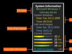 System Uptime full Plus 9.7 Screenshot