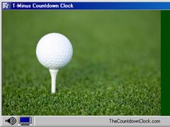 T-Minus Golf Countdown 6.0 Screenshot
