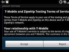 T-Mobile Group & Web Texting 1.1.77 Screenshot