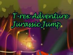 T-rex Adventure Jurassic Jump  Screenshot