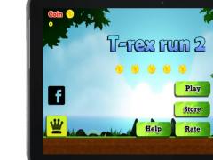 T-rex Run 2 1.1 Screenshot