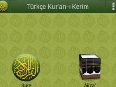 Türkçe Kur'an-ı Kerim 4.0.0c Screenshot