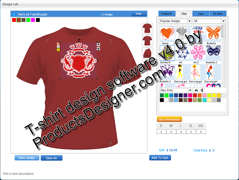 T Shirt Design Software 4 0 Free Download
