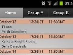 T20 Score Tracker 1.1.3 Screenshot