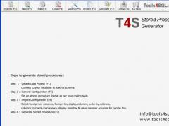 T4S Stored Procedure Generator 1.1.0.4 Screenshot