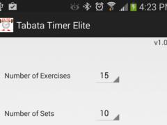 Tabata Timer Elite 1.0 Screenshot