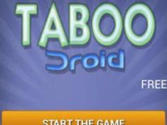 TabooDroid Free 2.0.8 Screenshot