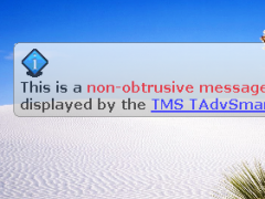TAdvSmartMessageBox 1.4.4.0 Screenshot