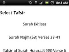 Tafsir Lite 1.0 Screenshot