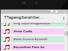 Tagalog Sarah Geronimo Songs 1.0 Screenshot