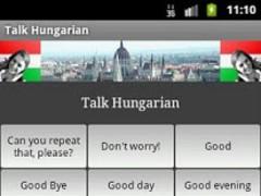 Talk Hungarian 1.0 Screenshot