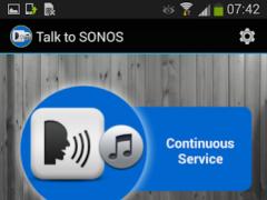 Talk to SONOS (R) 1.4.5 Screenshot