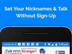 Talk to strangers without sign up