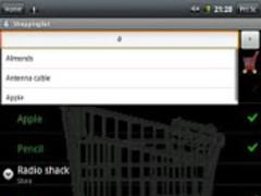 Talking shopping list 1.12 Screenshot
