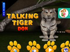 Talking Tiger Don 3.0 Screenshot