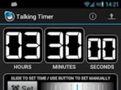 Talking Timer 1.2.1 Screenshot