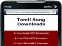 Tamil Song Downloads 0.1 Screenshot