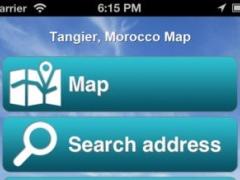 Tangier, Morocco Offline Map - PLACE STARS 1.1 Screenshot