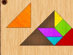 Tangram puzzle 3.4 Screenshot
