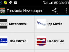 Tanzania Newspaper 1.0 Screenshot