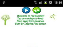 Tap Monkey 1.0 Screenshot