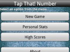 Tap That! Number (FREE) 4.0 Screenshot