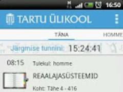 Tartu Ülikooli Õppeinfosüsteem 1.4 Screenshot